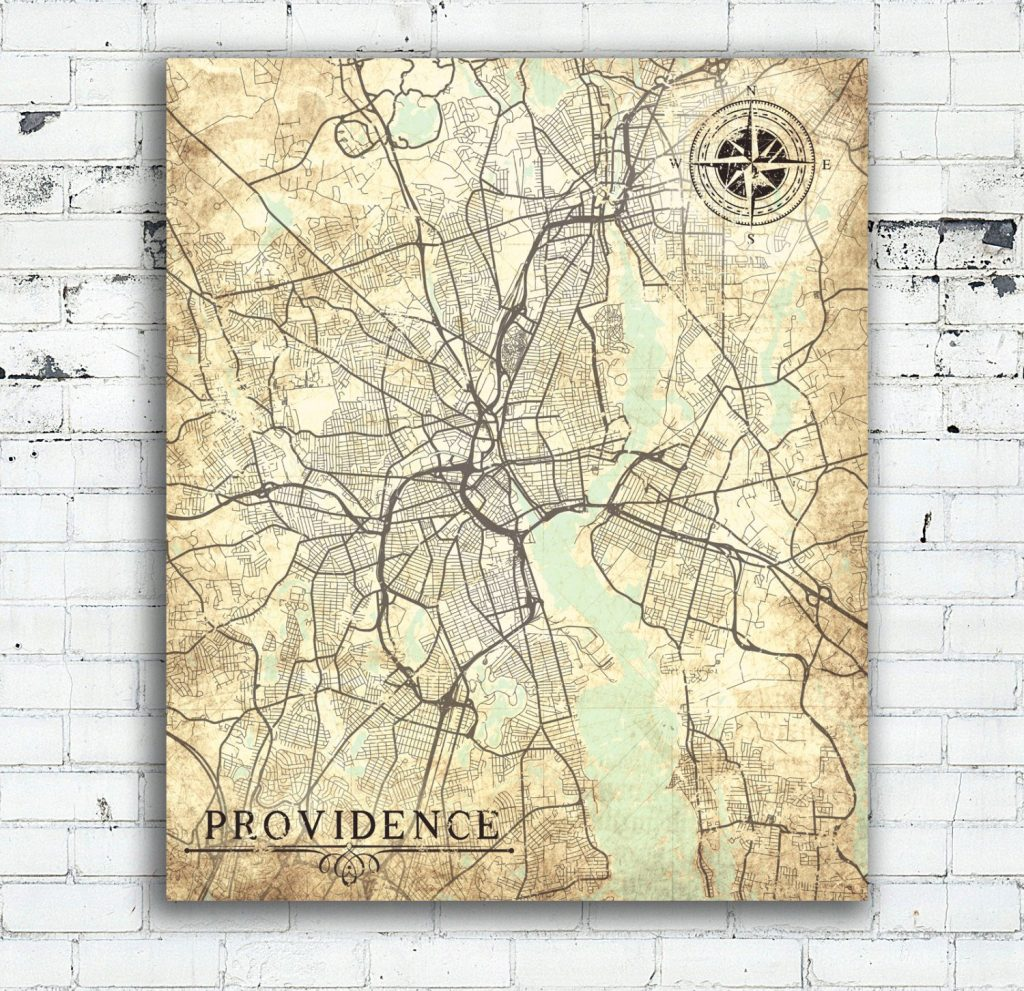 Providence Ri Canvas Print Rhode Island State Providence