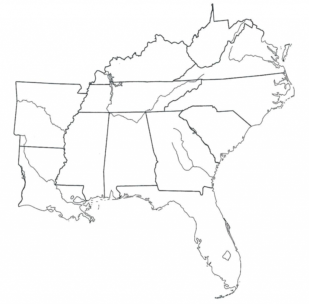 Blank Diagram Of United States