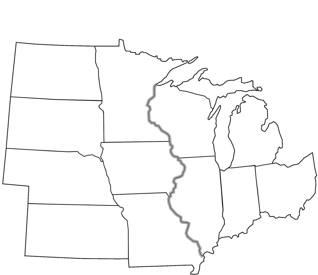 Maps Of The Midwestern States