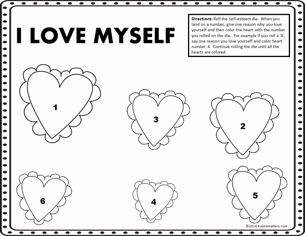 20 Worksheets On Self Esteem For Adults