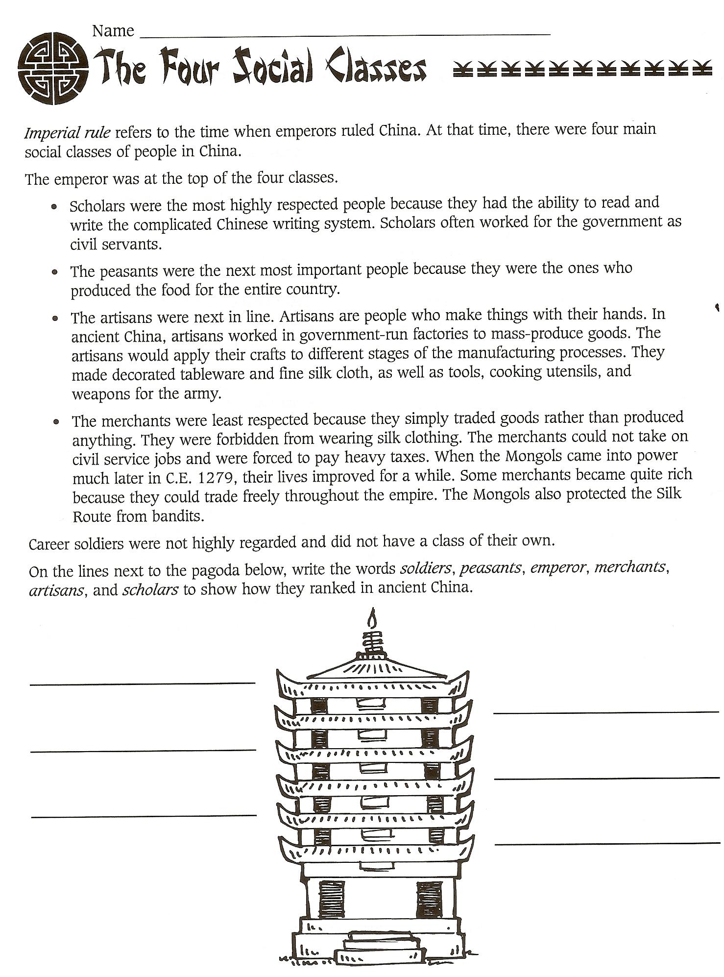 Chapter 5 Ancient China