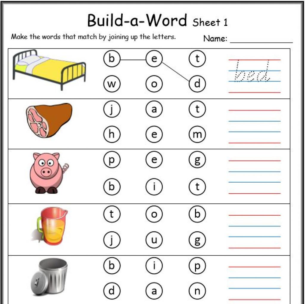 Cvc Activities For Kindergarten Awesome Free Printable Cvc