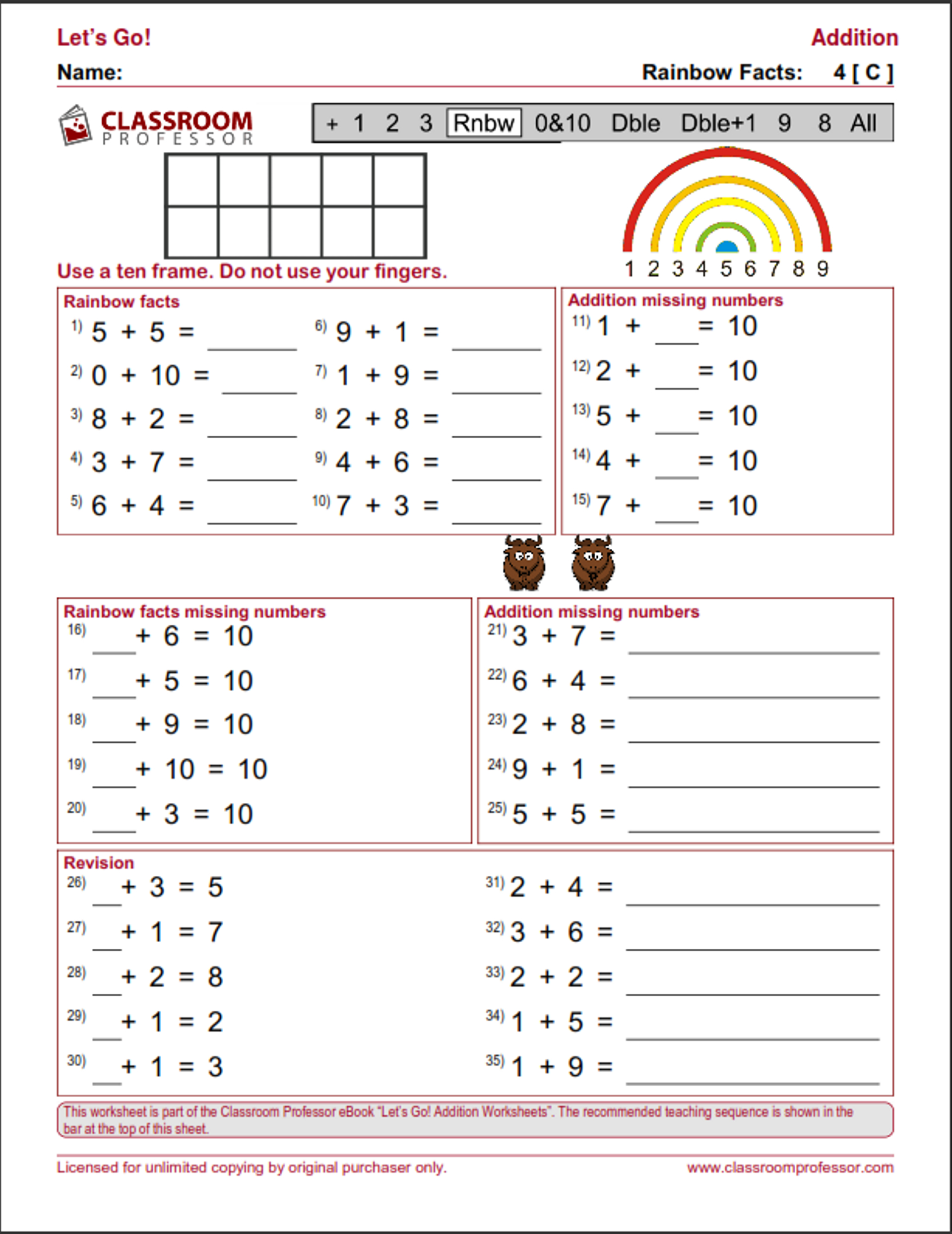 Kids Multiplication Facts Worksheets From The Teachers
