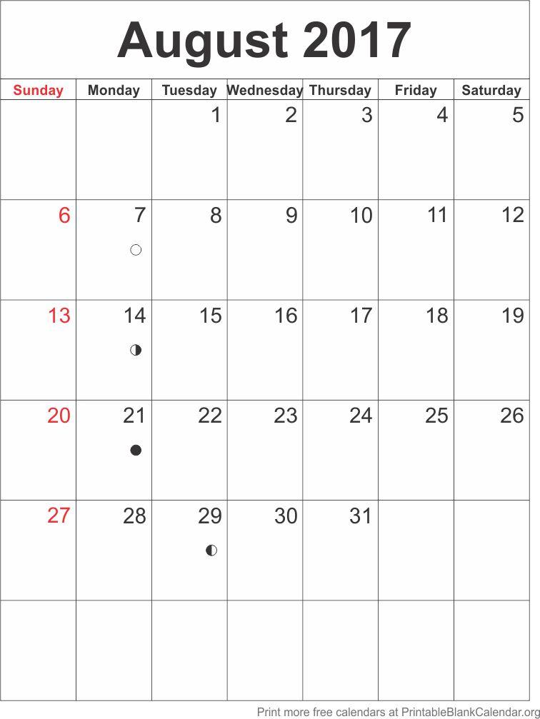 August 2017 blank calendar template printable blank calendar august 2017 blank calendar template saigontimesfo