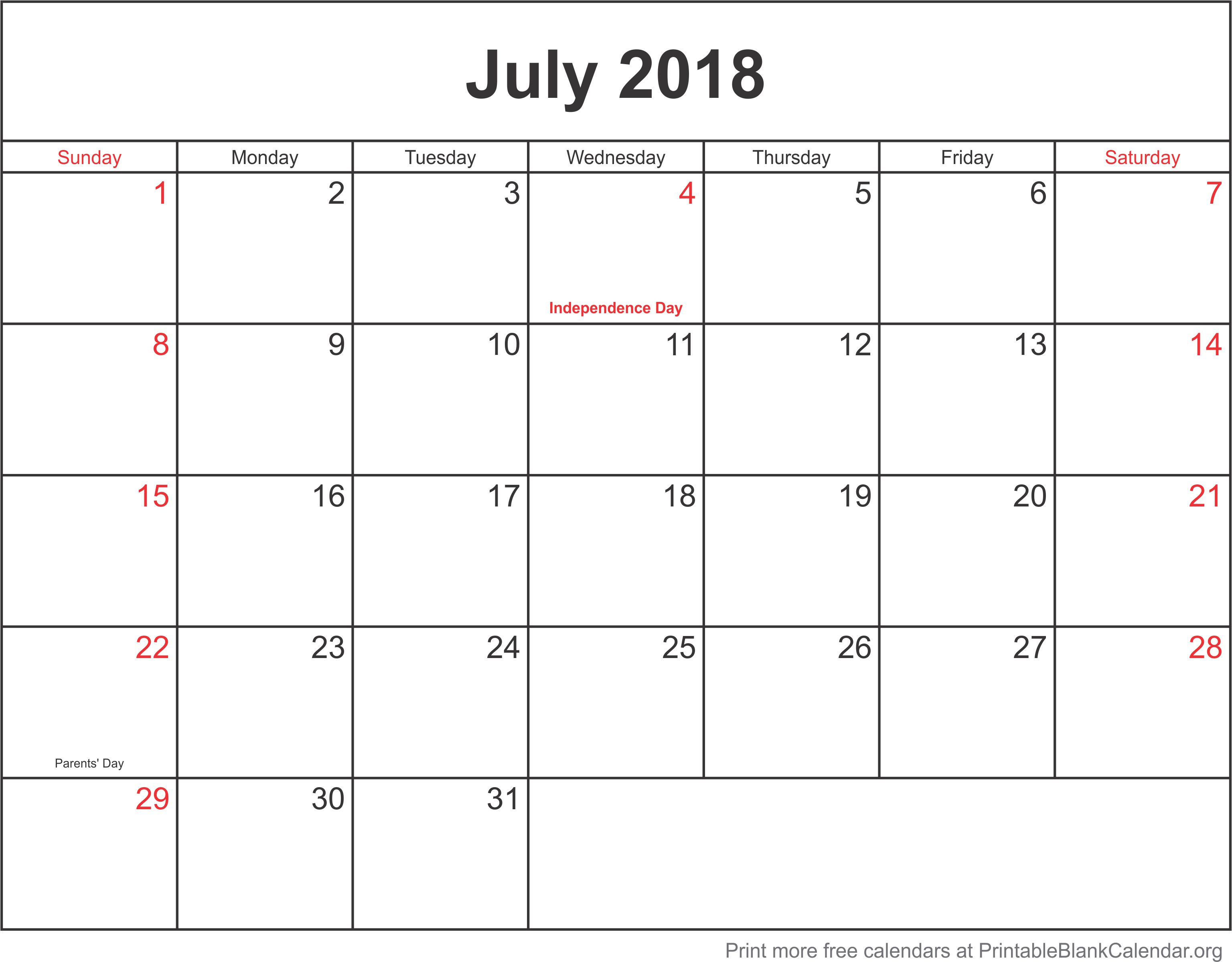 photo relating to Printable Calendar Template identify Printable Blank - Free of charge calendar templates