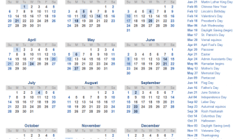 Free Printable Calendar 2019 With Indian Holidays