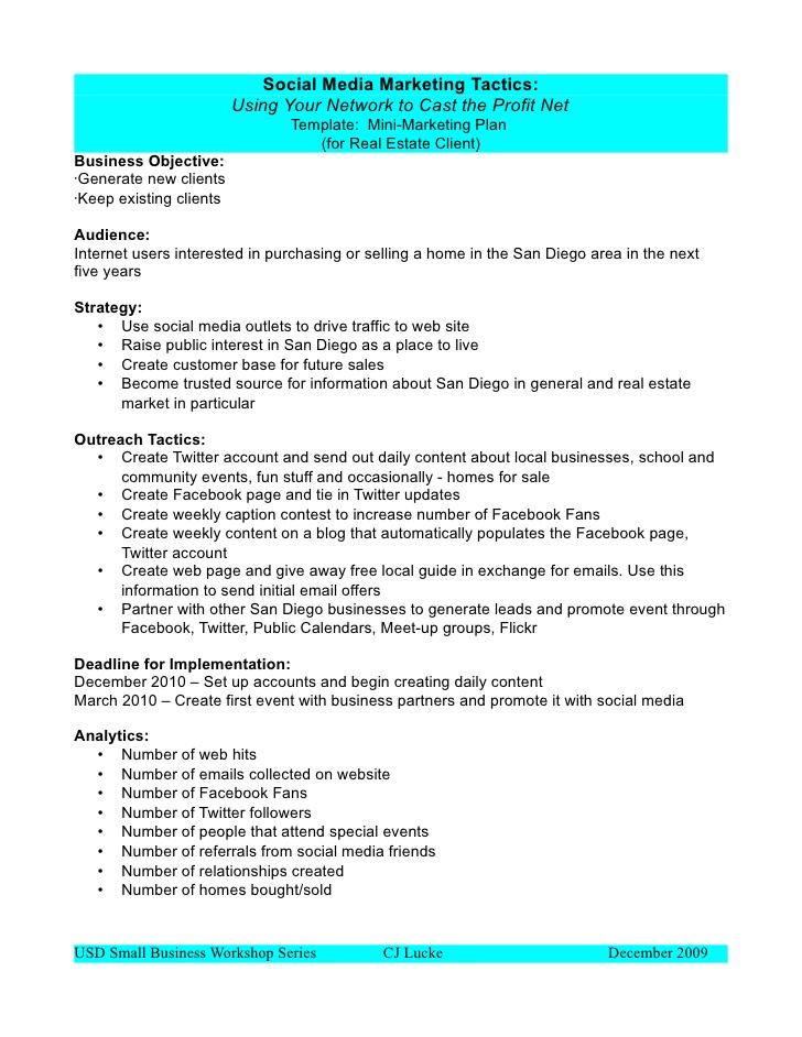 Business plan template | proposal sample – Printable ...