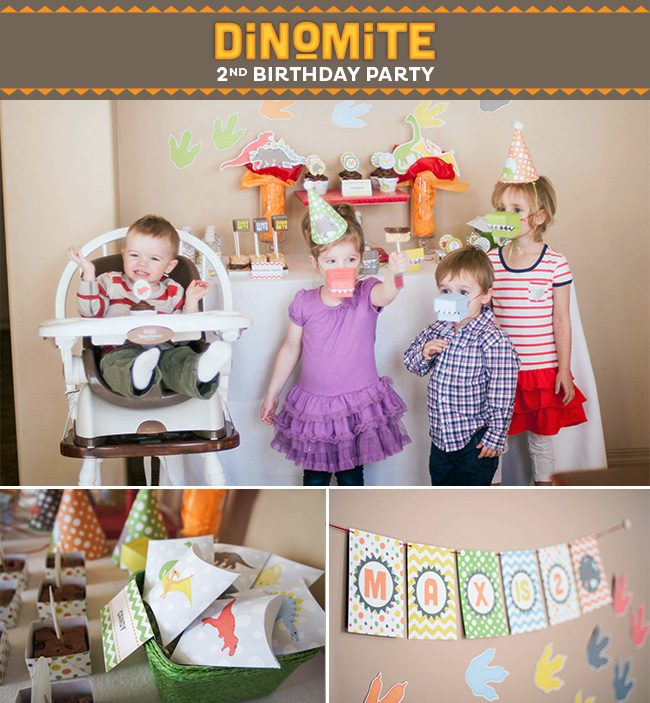 Dinosaur Party on a Budget | Strawberrymommycakes.com