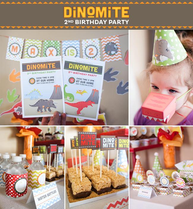 Dinosaur Party on a Budget   Strawberrymommycakes.com