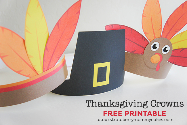 These adorable Thanksgiving Pilgrim, Indian and Turkey Crowns will keep your kids entertained and decked out this Thanksgiving!