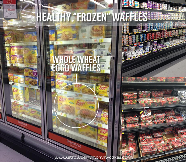 "Healthy ""Frozen"" Waffles at Walmart on www.strawberrymommycakes.com #frozen #walmart #FROZENFun #collectivebias"