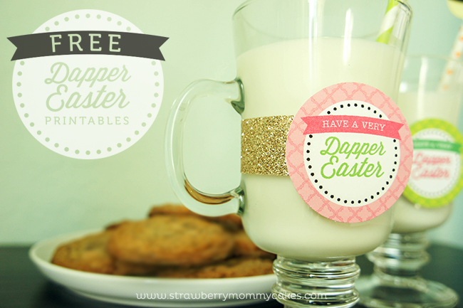 FREE Dapper Easter Printables on www.strawberrymommycakes.com #freeprintables #freeeasterprintables #easter #easterideas