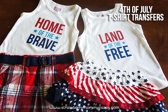 4th of July T-shirts on www.strawberrymommycakes.com #fourthofjuly