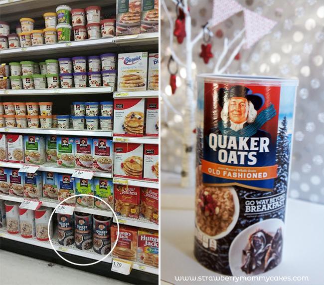 Hot Cereal Holiday Oatmeal Bar