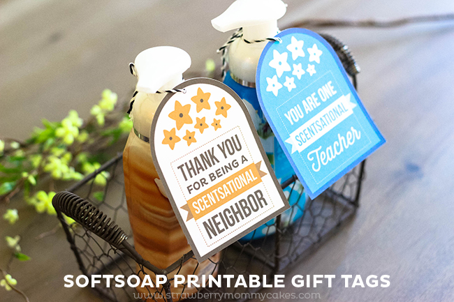 Softsoap Printable Gift Tags