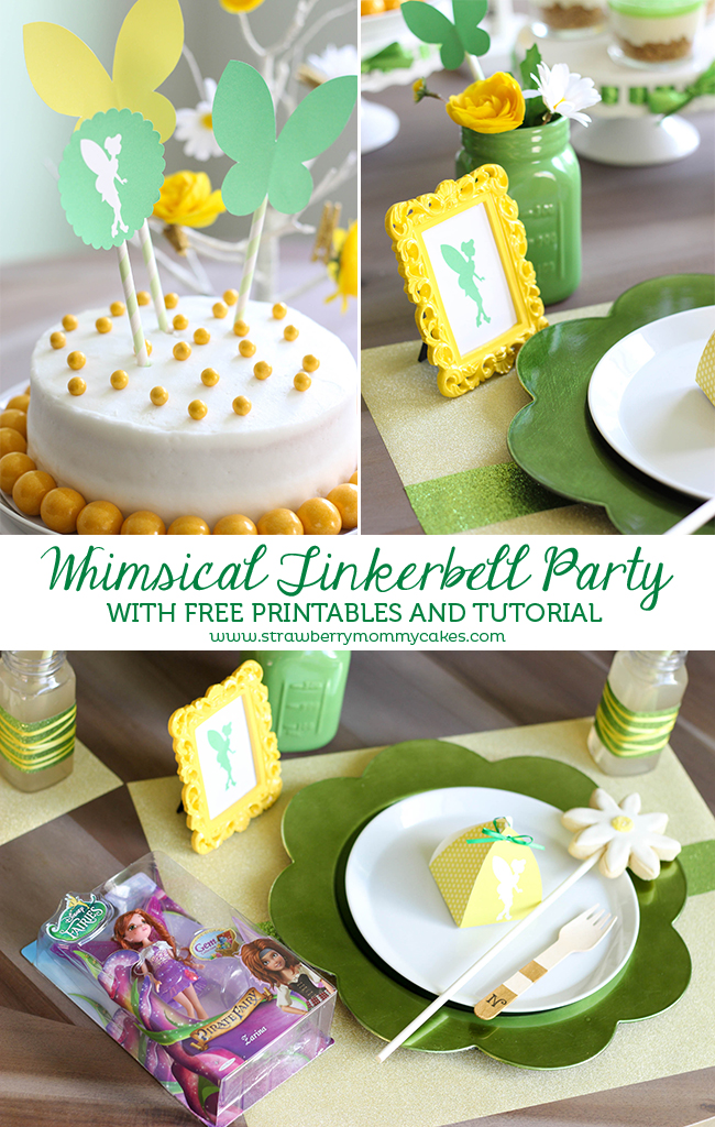 Whimsical Tinkerbell Party with FREE Printables and Tutorial