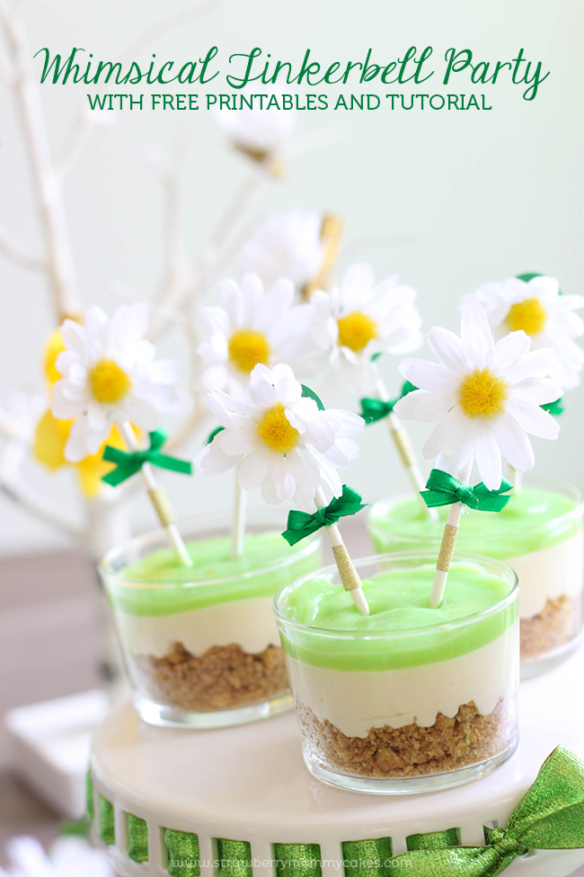 Whimsical Tinker Bell Party With Free Printables And Tutorial