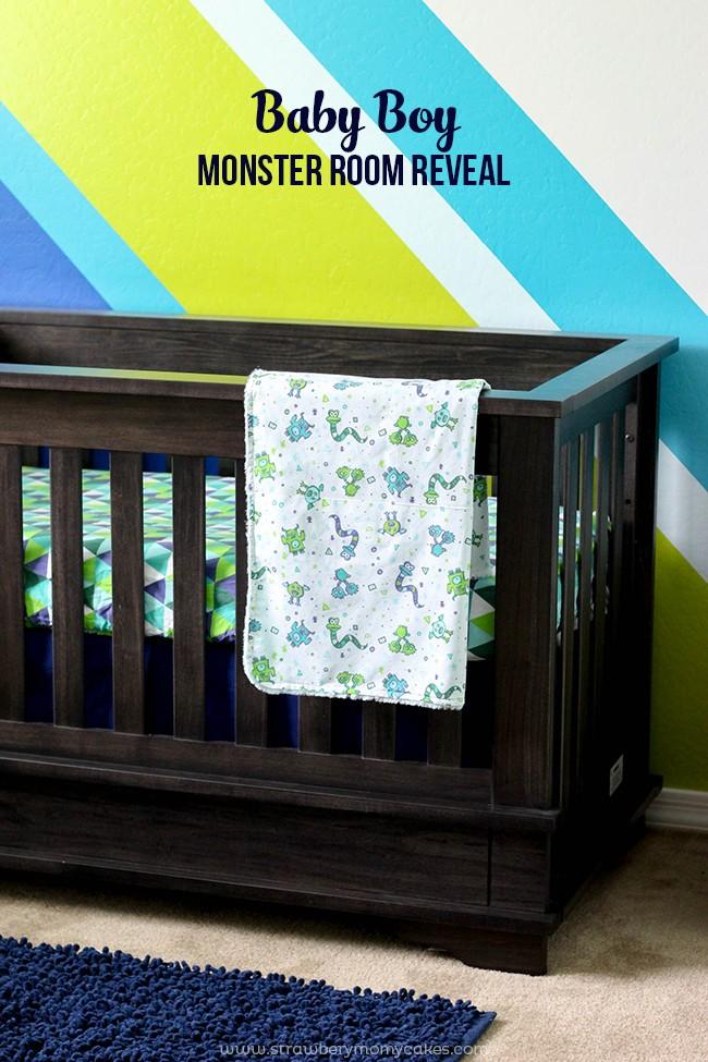 Baby Boy Monster Room Reveal
