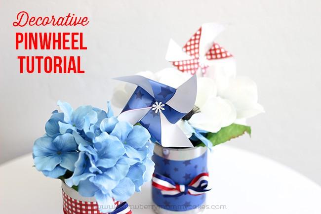 Decorative Pinwheel Tutorial