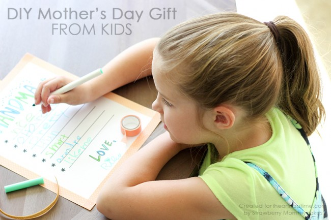 Free Mother's Day Printable for Kids