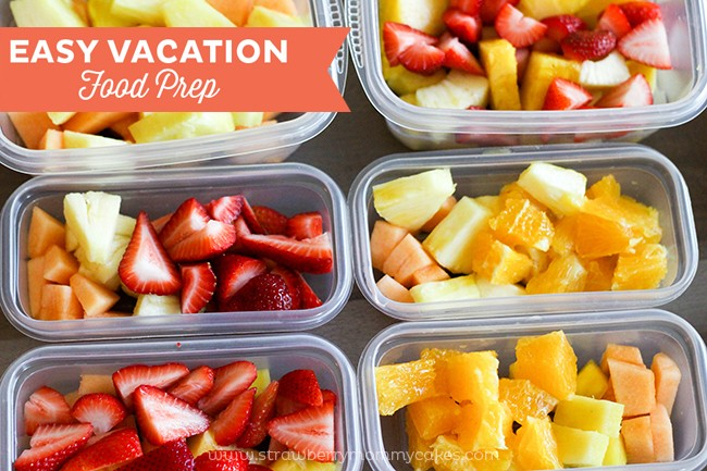 EASY Vacation Food Prep