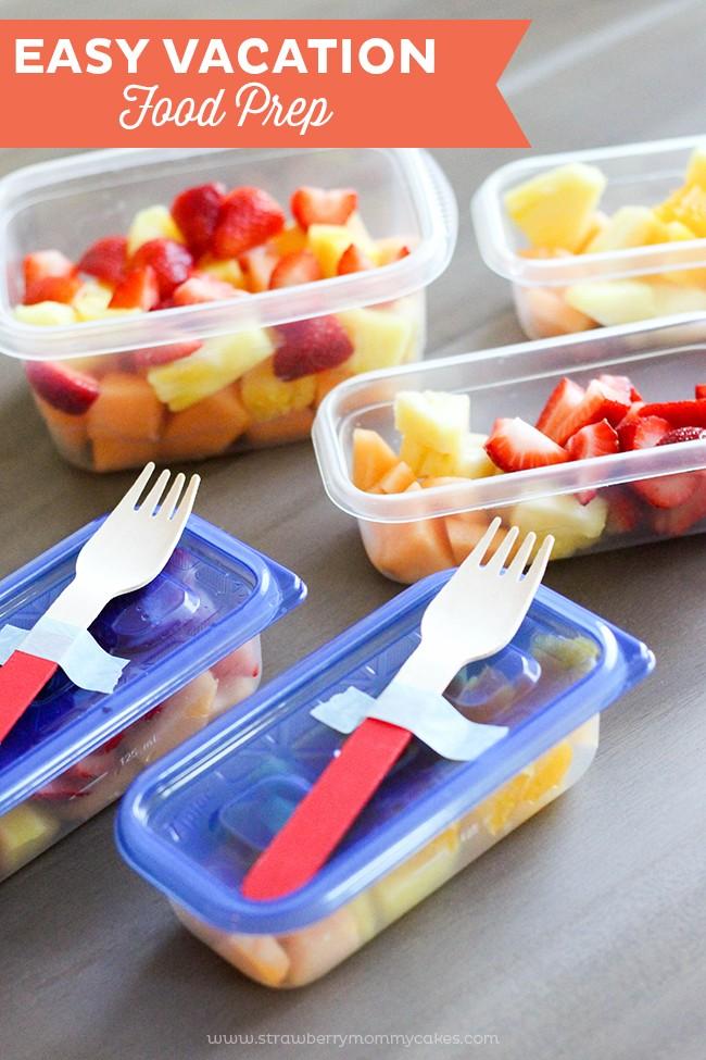 EASY Vacation Food Prep
