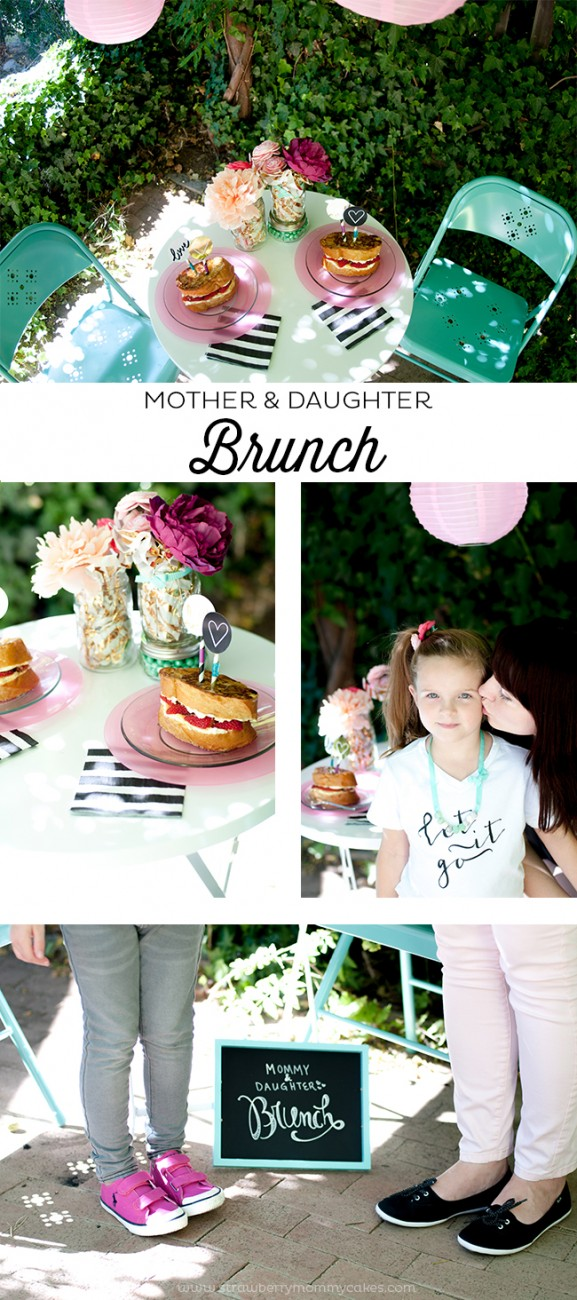 Mother and Daughter Brunch Date