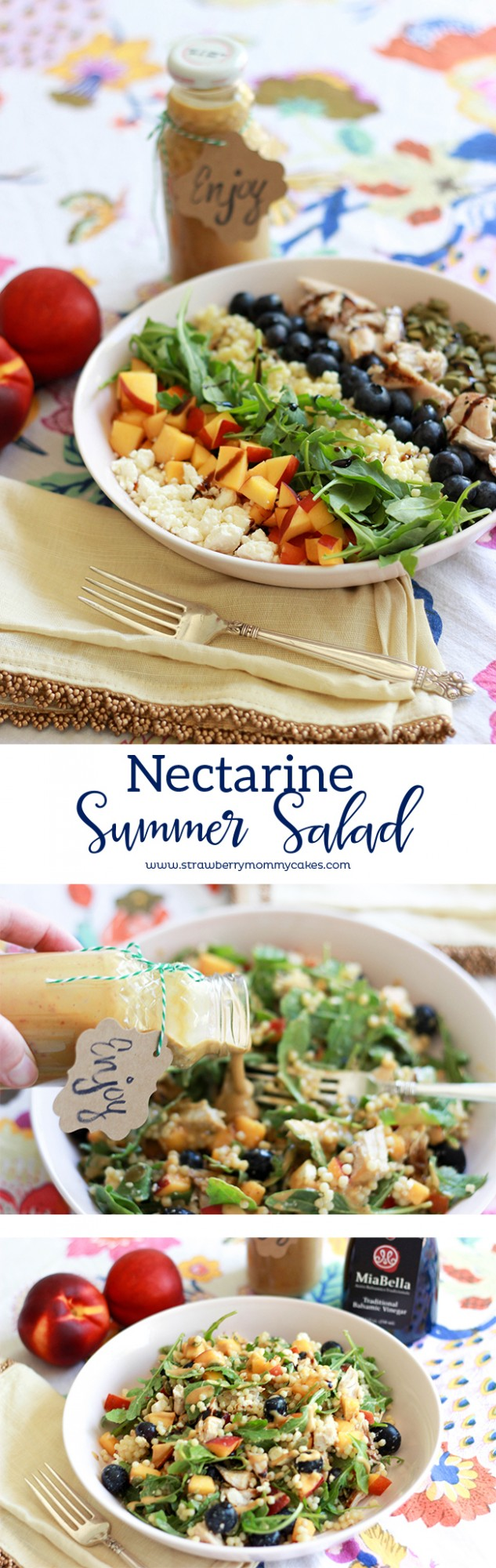 Nectarine Summer Salad Recipe
