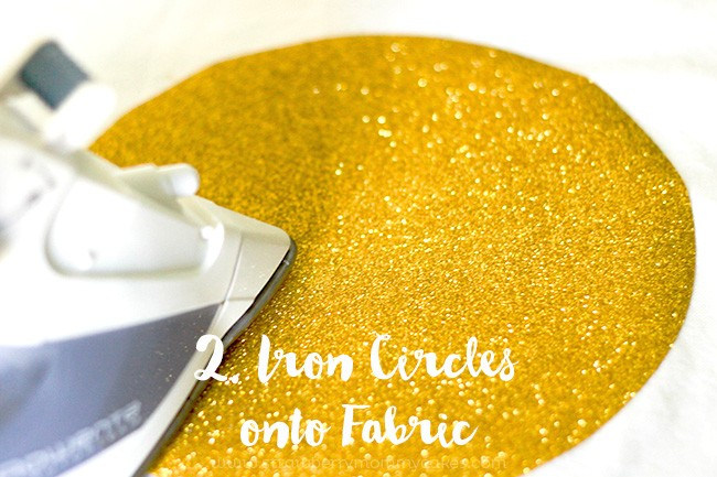 Easy DIY Gold Polka Dot Curtains