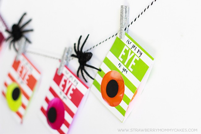 Learn How to make an Easy NO CANDY Halloween Gift. It has all the fun of a Halloween treat without the cavities!