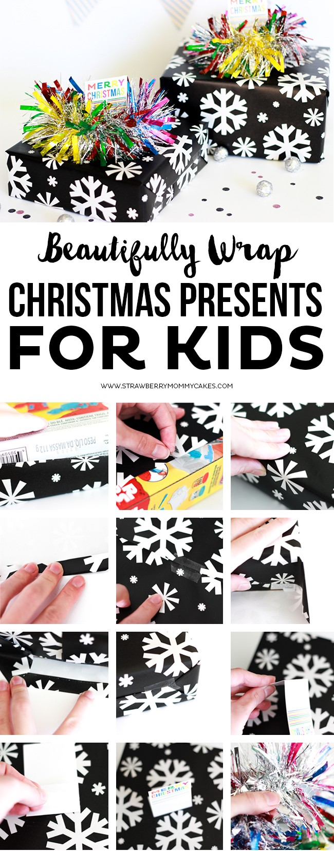 How to Beautifully Wrap Christmas Presents for Kids