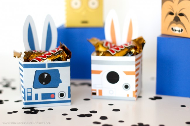 Star Wars Easter bunny baskets