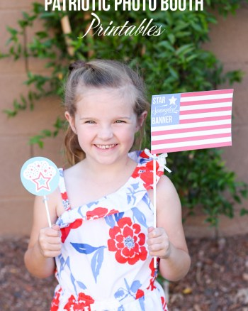 Fun Patriotic Photo Props