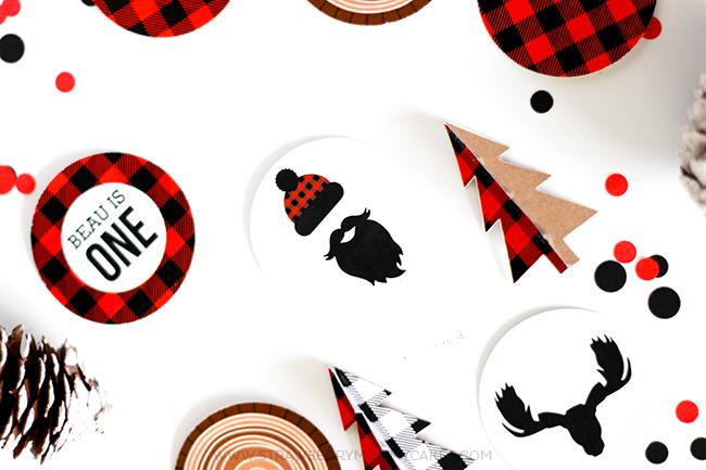 FREE Lumberjack Printables