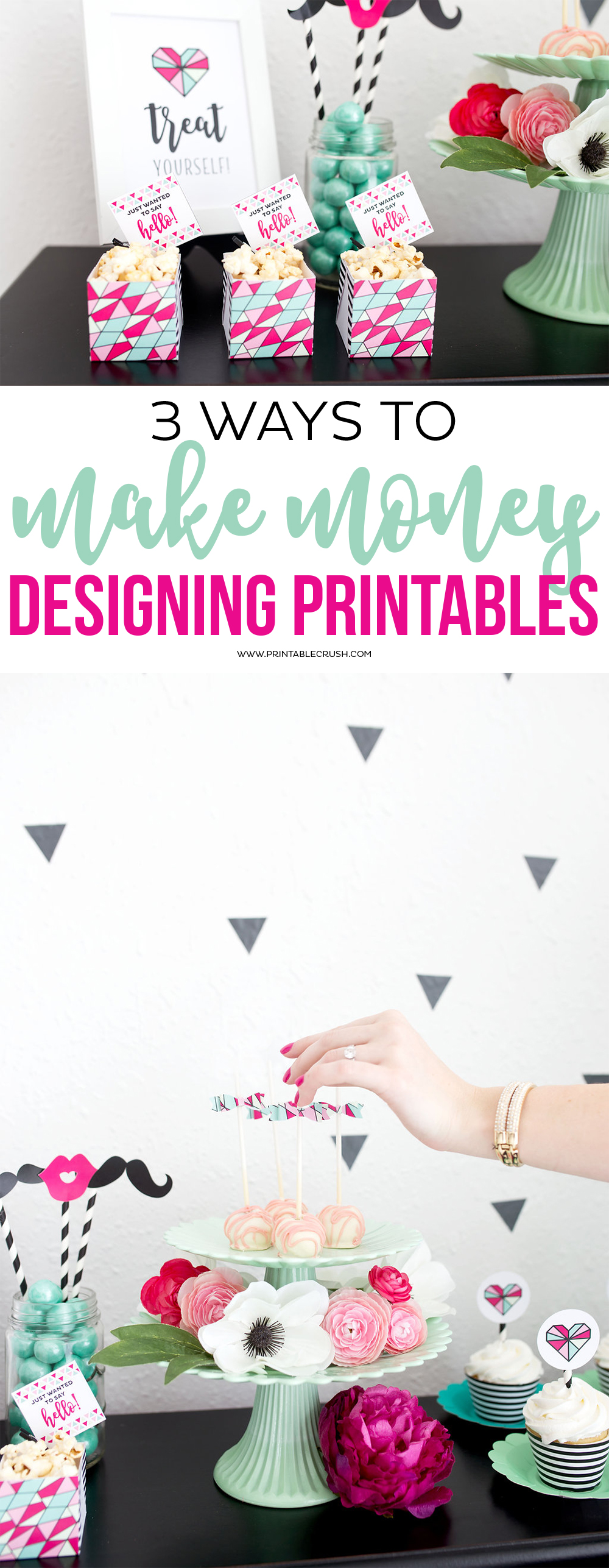 Long pin for how to make printables