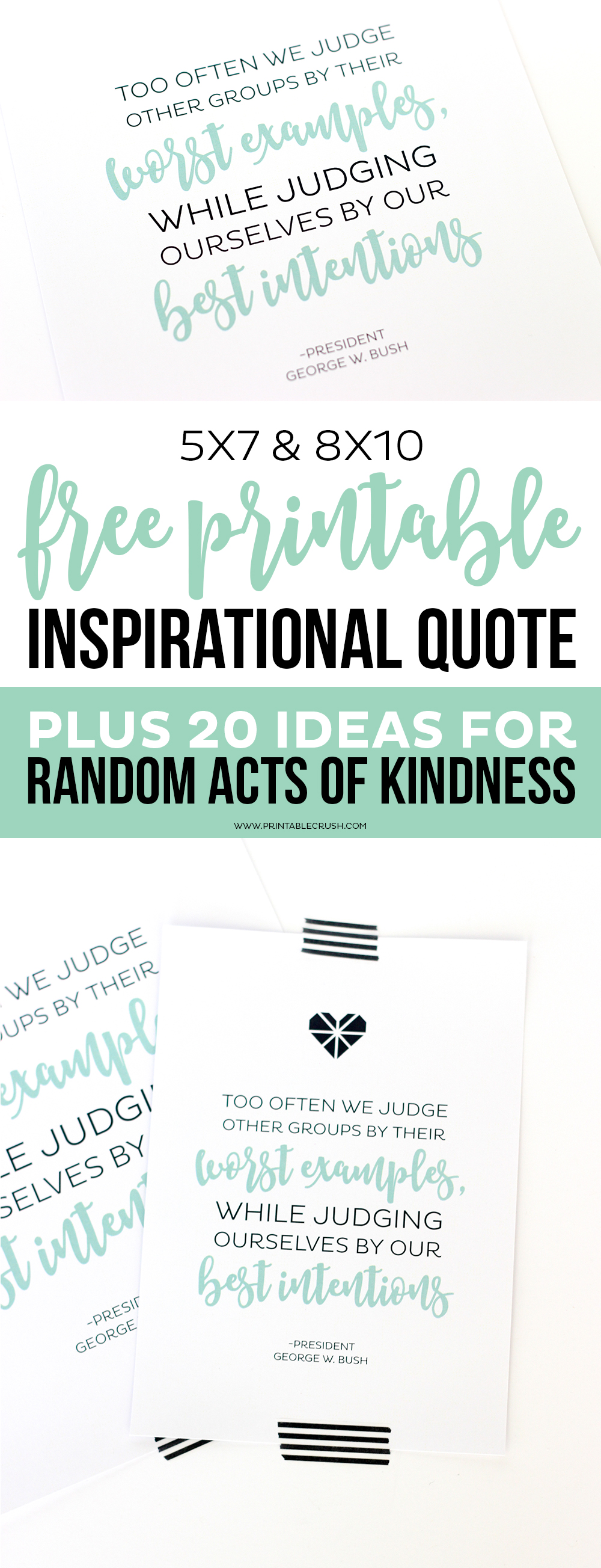 graphic about Printable Inspirational Quotes called No cost Printable Inspirational Estimate and Random Functions of