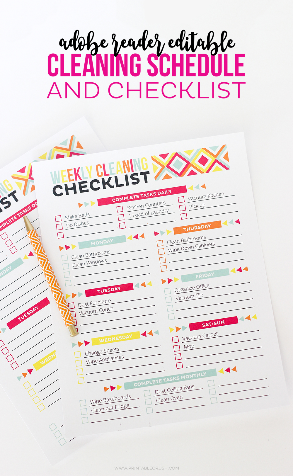 photo about Free Printable Organizing Sheets identified as 23 of the Most straightforward Small business Printables - Printable Crush
