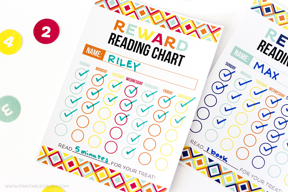 image about Sticker Chart Printable Pdf titled Cost-free Printable Advantage Looking through Chart - Printable Crush