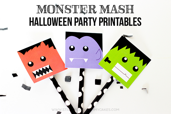 Monster Mash FREE Halloween Party Printables-6