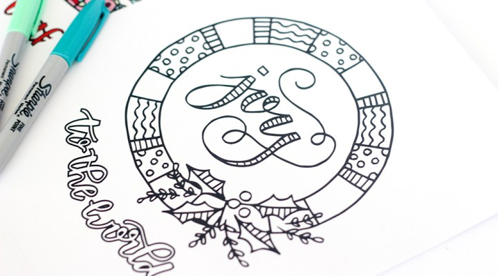 Print off some of these FREE Printable Christmas Coloring Page for a fun activity for kids or adults this holiday season!