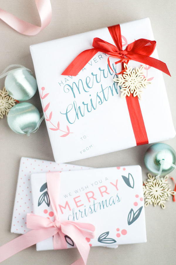 23 Unique Christmas Gift Tags and Wrapping Ideas on Printable Crush.com- so many fun ideas!