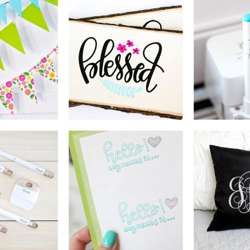 Today I have 23 of The BEST Cricut Tutorials around! I have included everything from basic how-to's, cute crafts to advance tutorials!
