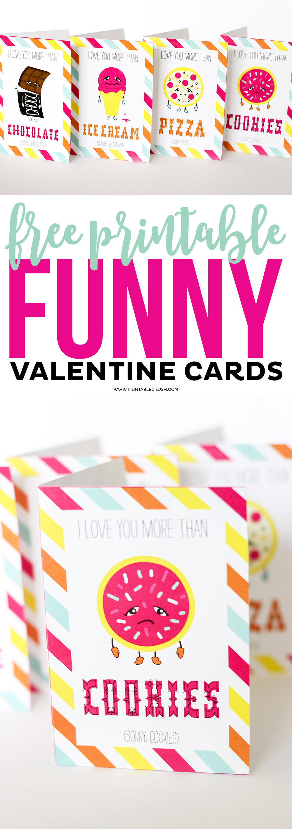 photo regarding Funny Printable Valentines Cards called Free of charge Printable Amusing Valentine Playing cards - Printable Crush