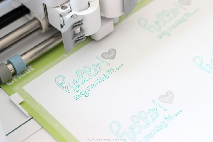 Cricut Projects - Hand-Lettering Using Cricut Pens