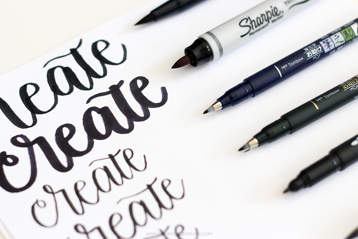 Tombow Dual Brush Pen Amp Other Pens For Hand Lettering