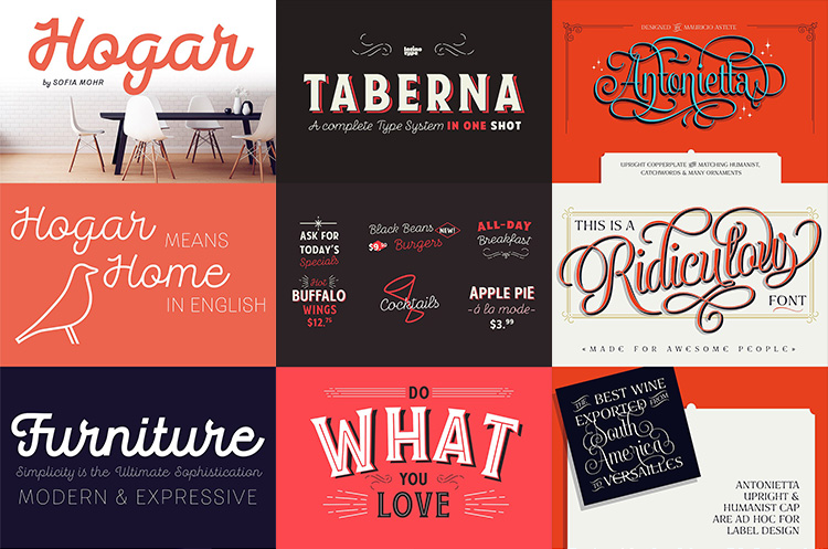 Get inspiration for your graphic design work with these 16 AMAZING Font Pairing Ideas! These would work great for logos, word art, invitations, and more!