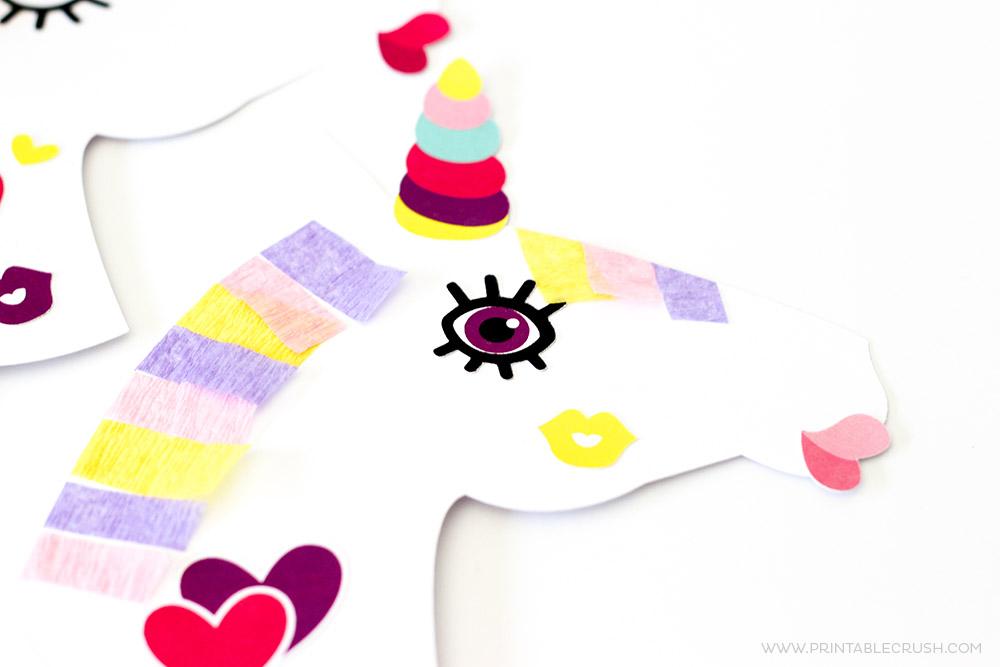 Make Your Own Unicorn Free Printable Activity Printable Crush