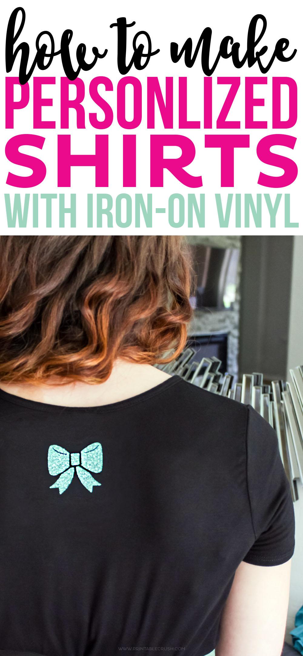 how to make vinyl t shirts
