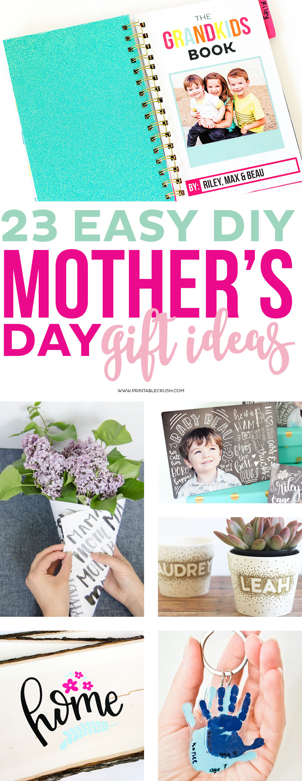 Quick And Easy Crafts For Mother S Day For Grandma