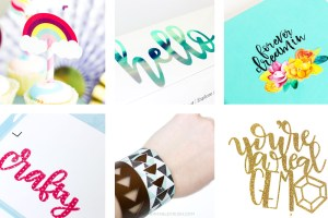 Today I have 31 of the BEST Cricut Tutorials and SVG Files around! I have included everything from basic how-to's, cute crafts to advance tutorials!